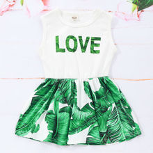 Toddler Kids Baby Girls Summer Dress Princess Party Wedding Tutu Dresses New 2019 Hot Sale