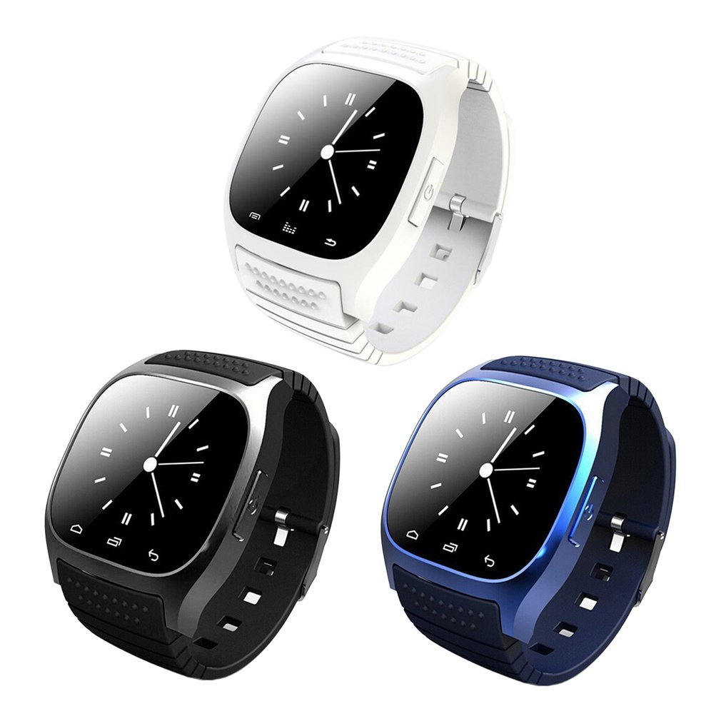 M26 Bluetooth Smart Watch Waterproof Smartwatch Call Music Pedometer Fitness Tracker For Android Smart Phone цена