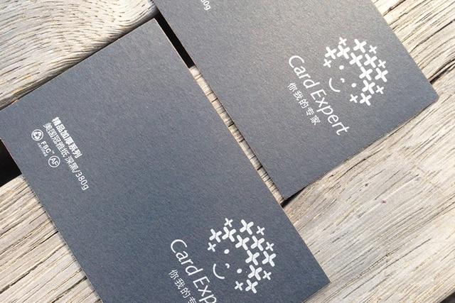 380gsm NOUS Classique CRTE Pique Noir Carte Stock Papier De Spcialit JH014 Certifi FSC Pour