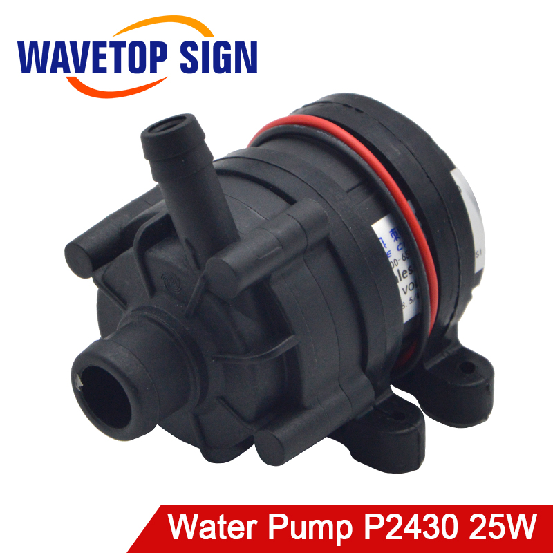 RECI Chiller CW3000 CW5200 Water Pump P2430 25W DC 24V Flow Rate 8 5L min
