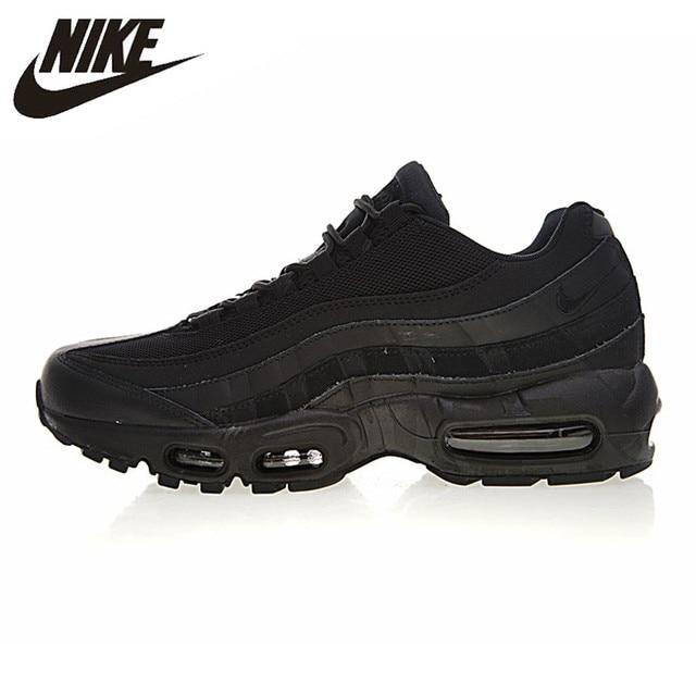 Tênis de Corrida dos homens Nike Air Max 95 Essencial, Preto, -absorção de choque Não-deslizamento Resistente Ao Desgaste 749766 009