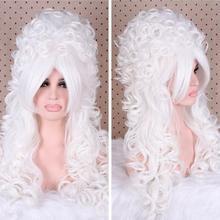 """Ювелирный парик 2"""" женские длинные парики Рене викторианская Мария Антуанетта Кудрявые Волнистые Косплей парик"""