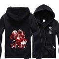 Anime Tokyo Ghoul hoodies men zipper  and sweatshirts hip hop  bape hoodie streetwear tracksuit
