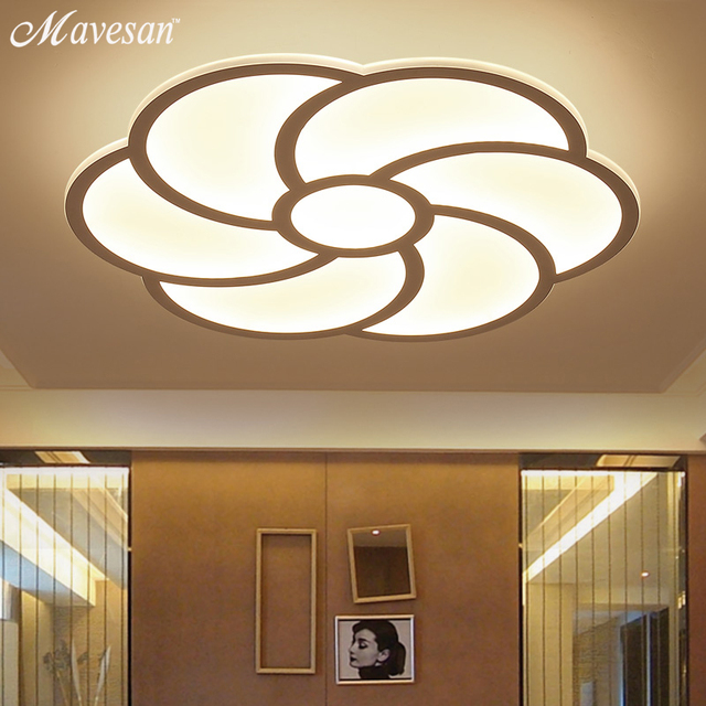 2017 modern flower led ceiling light acrylic ultrathin for bedroom 2017 modern flower led ceiling light acrylic ultrathin for bedroom decorative ceiling lamps lampshade lamparas de aloadofball Images