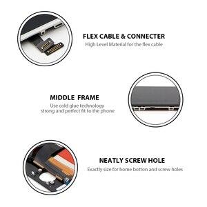 Image 3 - IBee części 10 sztuk nowa generacja zaawansowane dla iPhone 6 6G 6S wyświetlacz LCD wymiana ekranu dotykowego obiektyw Pantalla