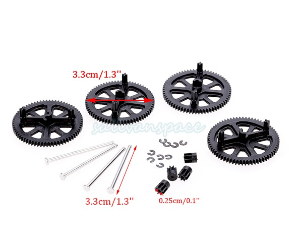 high Quality New Quadcopter Spare Parts Motor Pinion Gear