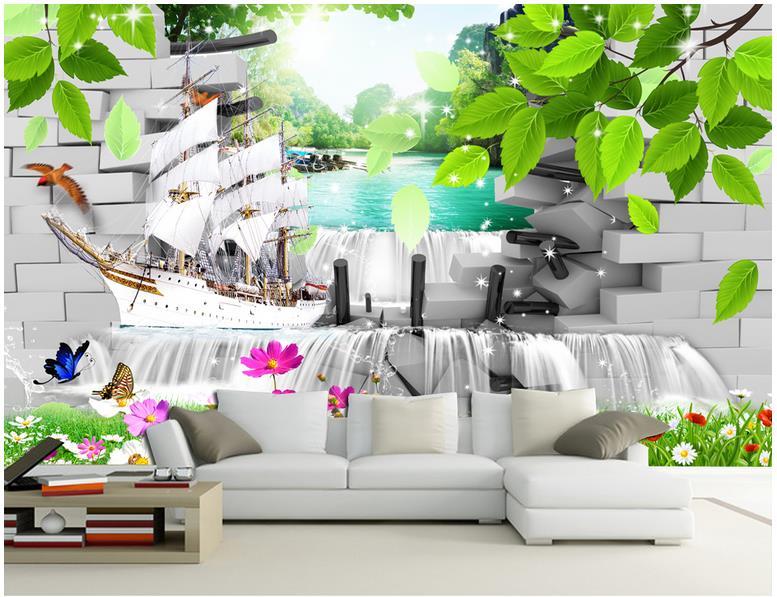 Online get cheap modern wallpaper murals for Cheap contemporary wallpaper