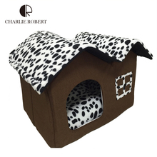 2016 New Large Dog House Folding Style Dog Bed High Quality PP Cotton House For Dogs 2016 New Style Pet Product Surplies