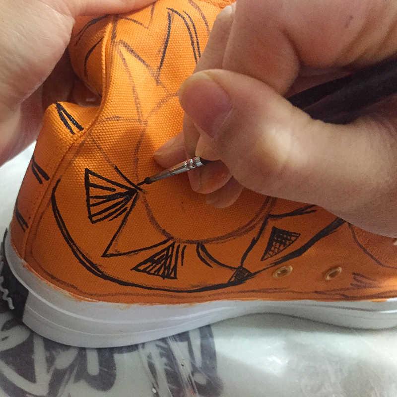 b2b93956c79c ... Wen Hand Painted Shoes Sneakers MEOW Cartoon Cat Design Custom High Top  Women And Men Casual ...