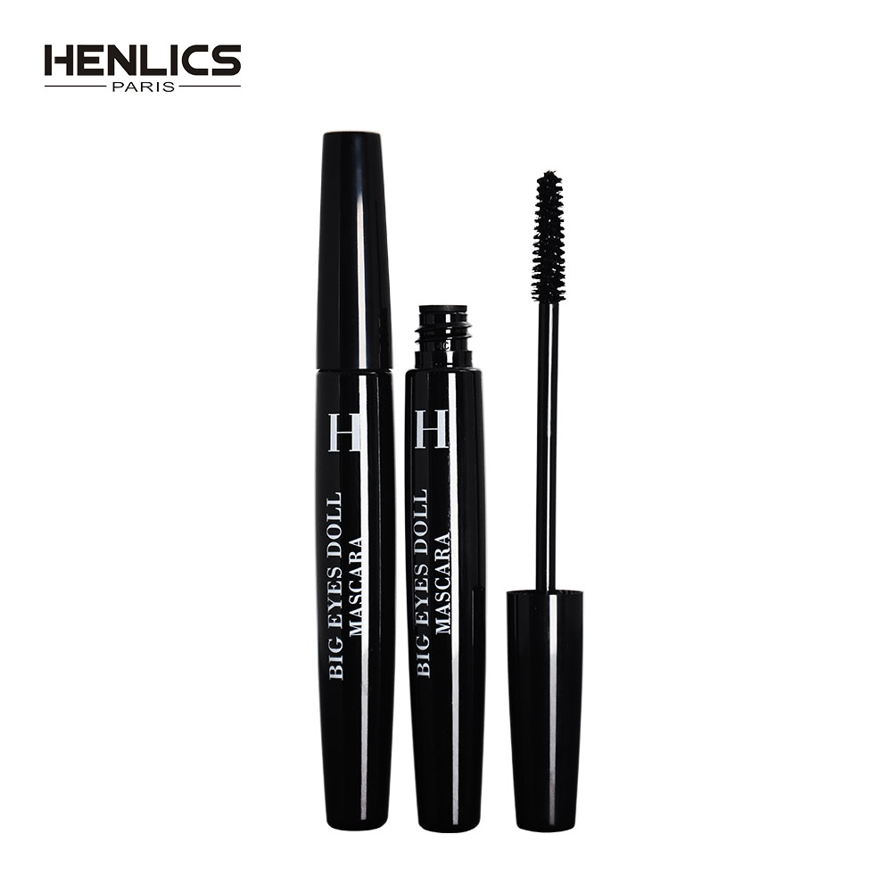 HENLICS Professional Mascara Makeup Thick Curling Mascara Eyelashes Curling Mascara Make up Waterproof Eyes Cosmetics