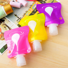 Lovely Travel portable Mini hand sanitizer/Shampoo/Makeup fluid bottle
