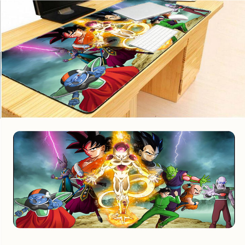 Mairuige Dragon Ball Z Anime Pad To Mouse Notbook Computer Mousepad Lockand Gaming Padmouse To 90x40cm Keyboard Mouse Mats