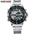 Top Sale WEIDE Men Sports Watch Multi-function Military Watch for Men Quartz Relogio Masculino Analog-Digital 12-month Guarantee