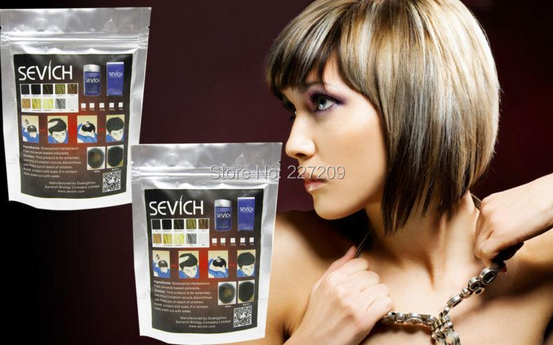 Black Dark Brown Hair Keratin Fiber Thin Hair Loss Powder Women Men