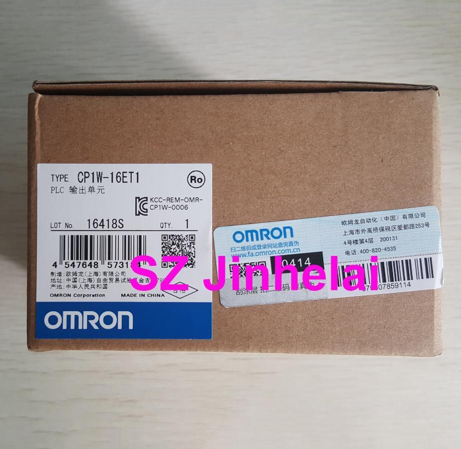 OMRON CP1W-16ET1 Authentic original PLC Output unit стоимость