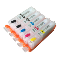 1set 5pcs PGI 550 CLI 551 PGI550 Refillable Ink Cartridges For Canon PIXMA IP7250 IX6850 MG5450