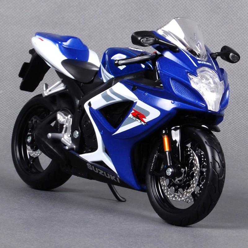 Maisto 1:12 SUZUKI GSX R750 GSX R750 MOTORCYCLE BIKE Model FREE SHIPPING WITH TRACKING NUMBER ...
