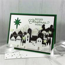 Рождественские металлические Вырубные штампы форма для вырезания