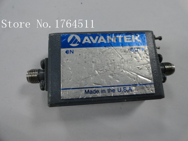 [BELLA] AVANTEK AWT-18054 Microwave Power Supply High Frequency Low Noise Amplifier 8-18GHZ 12V