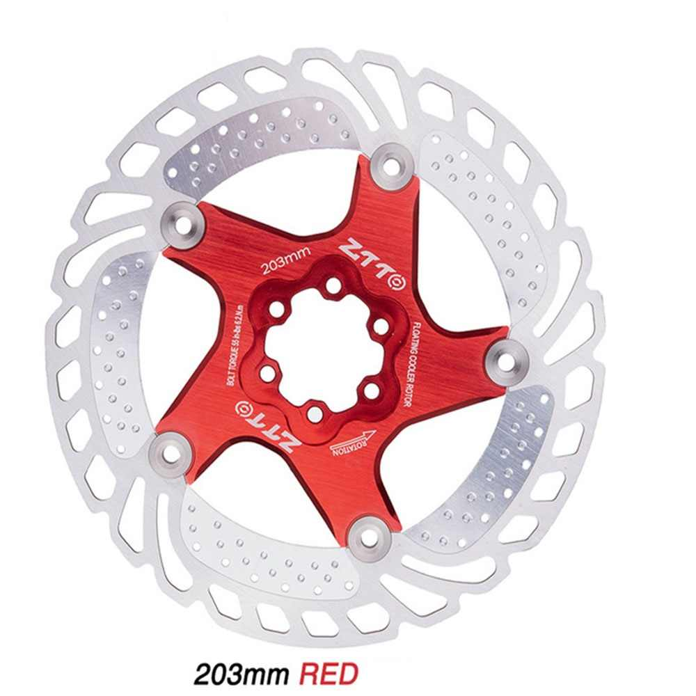 MTB Road Bike Disc Brake Rotor  160//180//203mm 6 Bolts Floating Stainless steel