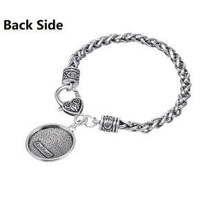 Image 4 - Fishhook Dropshipping  Ezili Freda Voodoo Loa Veve Pendant Vodoun Lwa Love Talisman Jewelry Hoodoo Amulet Fashion Bracelet