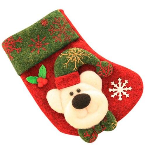 uesh christmas socks christmas socks tree pendant christmas decorations red bear