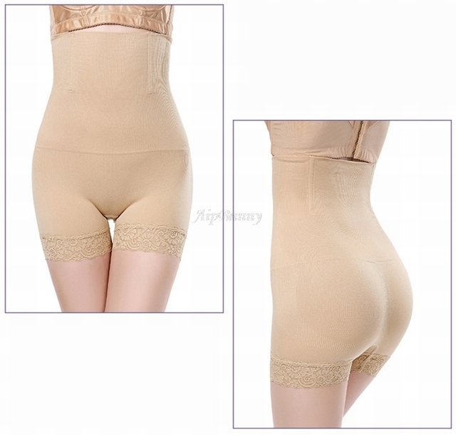2018 New Sexy Bodyshaper Lingerie Trimmer Reductora Breathable Mujer Tummy Butt Slimming Lace Lift  Faja Up Seemless Shapewear 4