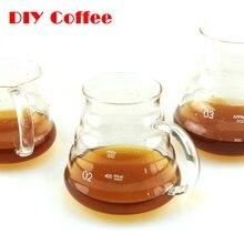 1 STÜCK Heißen Kaffee Tropf Hario Stil Kaffee Server Kaffee Wasserkocher 360 ML 5800 ML 780 ML V60 Palette Server
