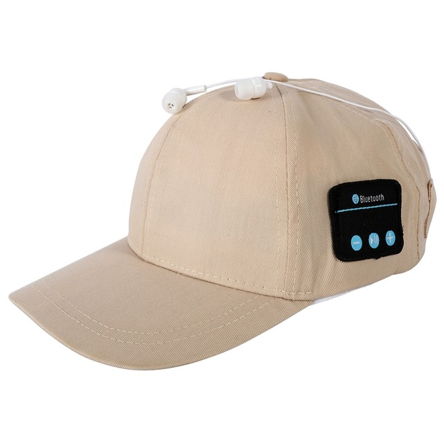 eef5de72778 Hot Sales Smart Phone Tablet Wireless Sport Bluetooth Music Hat 2-in-1  Hands-free Cap Speaker Sport Baseball Cap Headset bthi