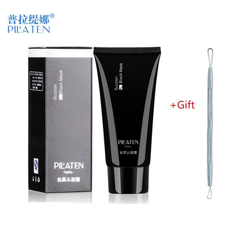 1 stück PILATEN Schwarz Gesichtsmaske 60g Schwarz Kopf Mitesser Entferner Akne-behandlung Tiefenreinigung Schrumpfen Poren Gesicht pflege