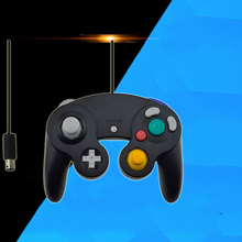 Wired USB/GC Controller For NGCGamecube Console Laptop Computer For Nintend NGCGamepad Controle PC GC Handheld Joystick все цены