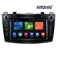 8 1024*600 Touch Screen Android 9.0 Quad Core Car DVD Stereo For 2010 2011 2012 2013 MAZDA 3 car gps radio tape recorder 2G RAM