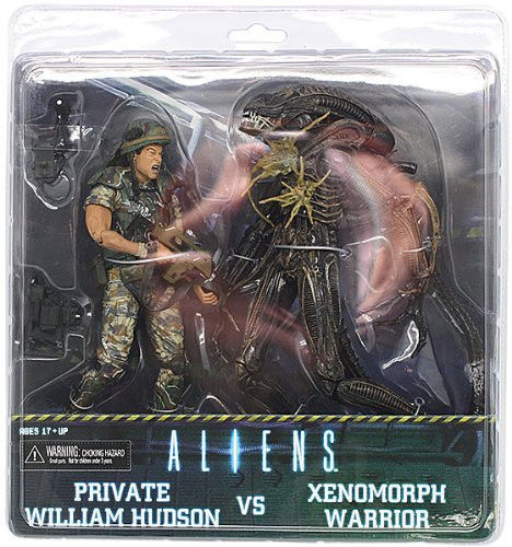 Free Shipping NECA Aliens Corporal Dwayne Hicks VS Xenomorph Warrior 7 Inch 2 Pack Set Figure Alien india hicks island style