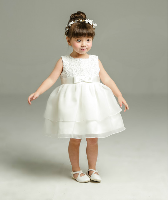 ae797aa0b716 Summer Ivory New Baby Girl Birthday Baptism Dress Sleeveless ...