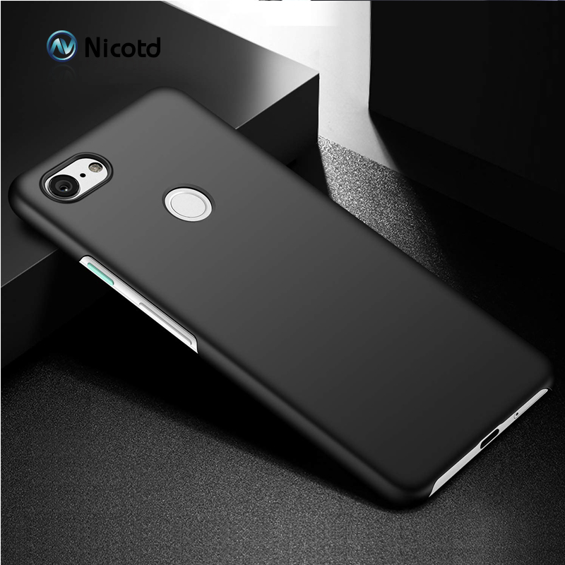 Case For Google Pixel 3XL 3 2 Full Cover Luxury Hard Plastic Matte PC Cell Phone Cover For Google Pixel 2XL XL 2 3 Bags