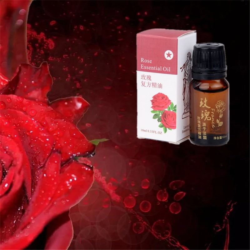 Hot 1 Bottle Women Men Slimming Products Rose essential oil to Lose Weight and Burn Fat Rose essential Burner Anti-Cellulite