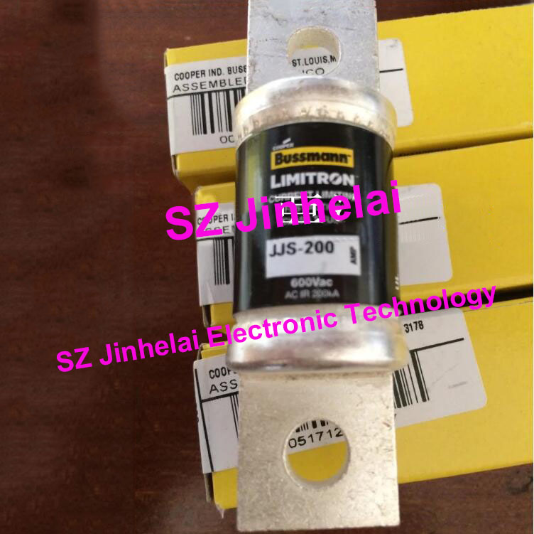 100% New and original BUSSMANN Fast-Acting Fuse JJS-200 200A 600V rgs4b 315a fast fuse rgs4b 315a 660gh fast acting fuse