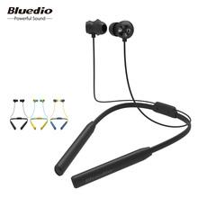 Bluedio TN2 Sports słuchawki Bluetooth z aktywną redukcją szumów bezprzewodowy zestaw słuchawkowy do telefonów i muzyki tanie tanio Dla telefonów komórkowych iPod Sport wspólne słuchawki 116dB 0 8 m 32 w Ω Douszne 20-20000Hz Dynamiczne 2018 Niebieski żółty czarny