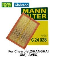 Mannfilter車エアフィルターC24028用シボレー(上海gm)アベオ1.4l/1.6l自動車部