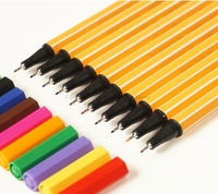 8 Pcs Lot Stabilo 88 Series Fiber Colored Gel Pen 0 4mm Metallic Nib Drawing Painting