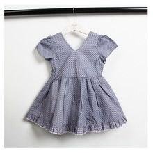 toddler summer dress for girls v-neck short knee-length kids dresses baby ruched lol in cute children clothes