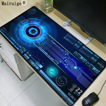 Mairuige 90X40CM Super Large Size Mouse Pad Natural Rubber Material Waterproof Desk Gaming Mousepad Desk Mats for dota LOL CSGO door wireless with monitor