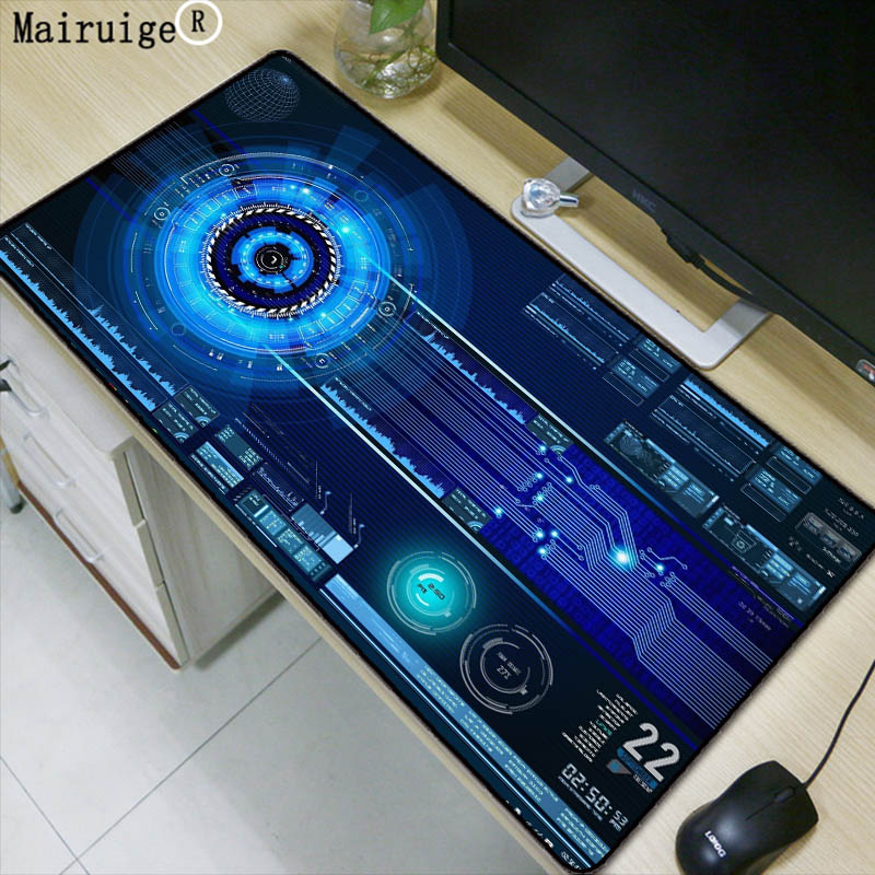 Mairuige Super Large Size keyboard Mouse Pad Natural Rubber Material Waterproof Desk Gaming Mousepad Desk Mats for dota LOL CSGO new garmin watch 2019