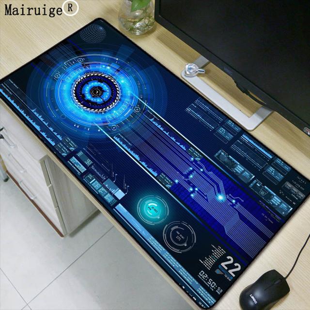 Mairuige 90X40CM Super Large Size Mouse Pad Natural Rubber Material Waterproof Desk Gaming Mousepad Desk Mats for dota LOL CSGO