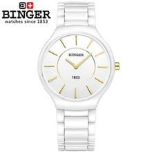 2015 Super slim Casual Wristwatch Business Men's Brand Ceramic Analog Quartz wrist Watch