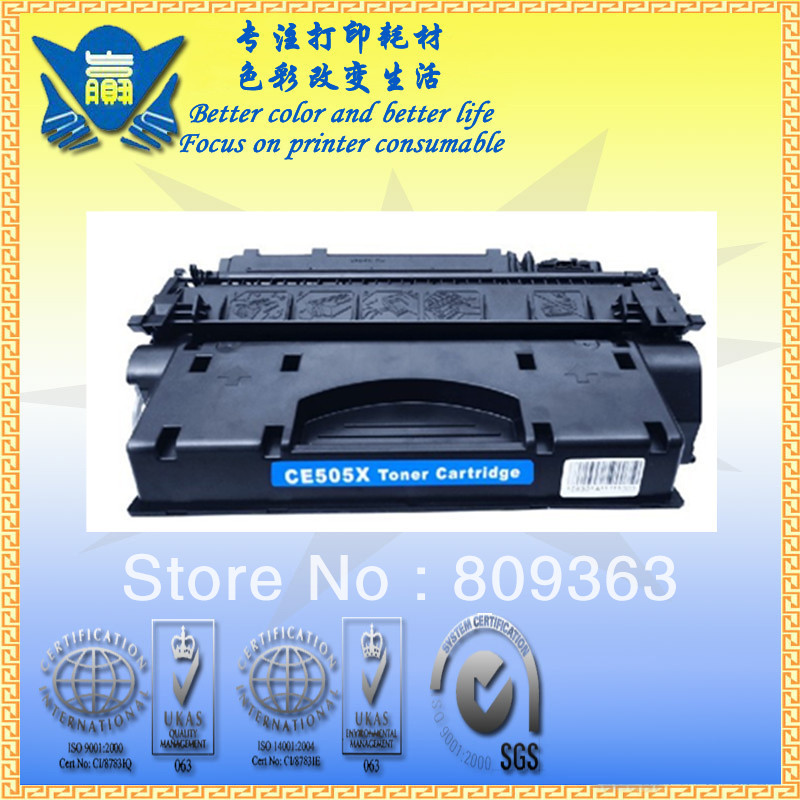 Jianyingchen Suitable Toner Cartridge Ce505X Substitute For Hp Laserjet P2035 P2055X (2Pcs/lot)