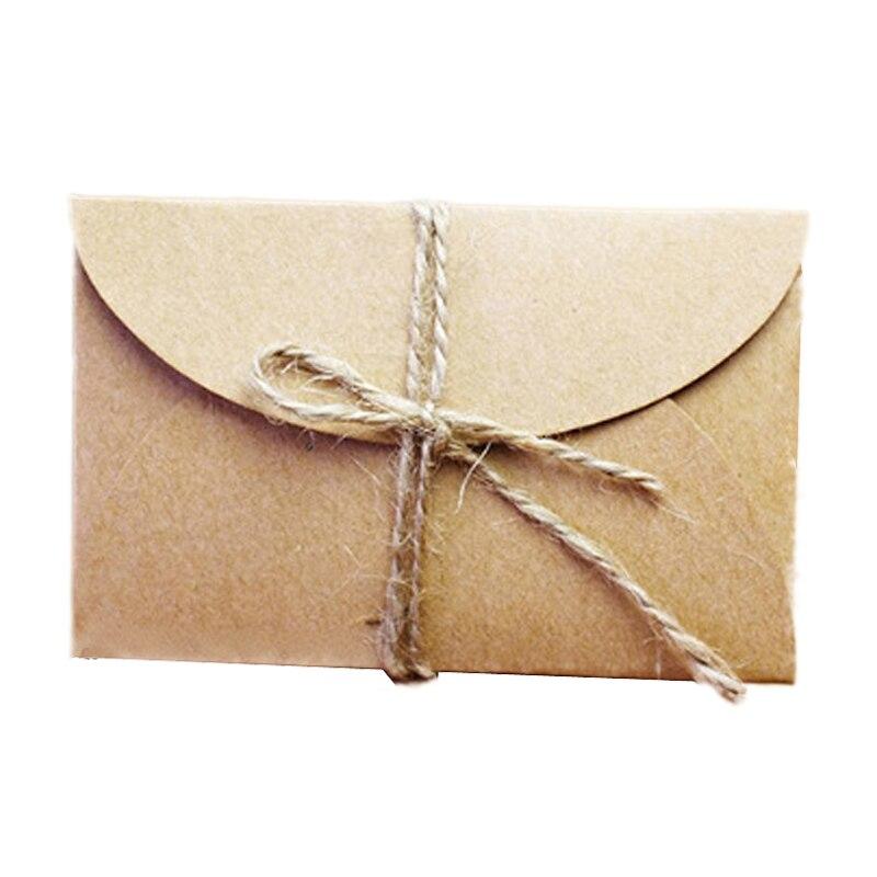 50 pcs/lot Korean Creative Retro Kraft Paper Envelope Vintage 9*6cm ...