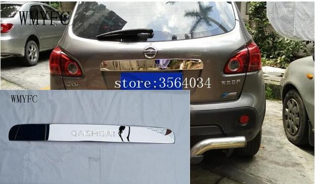 Stainless Steel Tailgate Boot Rear Door Grab Handle Trim Cover For