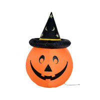 Manufacture supply giant halloween pumpkin inflatable items for halloween
