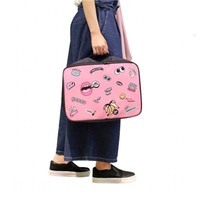 New Style Fashion Large Size Women Travel Storage Bag Lovely Cartoon Pattern Handbag Clothes Cosmetics Organizer